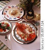 Delicious Cuisine. Стоковое фото, агентство Ingram Publishing / Фотобанк Лори