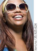 Portrait of a woman. Стоковое фото, фотограф Shannon Fagan / Ingram Publishing / Фотобанк Лори