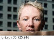 Shocked woman. Стоковое фото, фотограф Shannon Fagan / Ingram Publishing / Фотобанк Лори