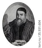 Gabriele FALLOPPIO 1523-1562. Редакционное фото, агентство World History Archive / Фотобанк Лори