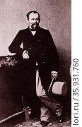 Heinrich Laube. Редакционное фото, агентство World History Archive / Фотобанк Лори