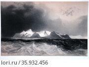Elephant Isle, New South Shetland, South Atlantic 1838. Редакционное фото, агентство World History Archive / Фотобанк Лори