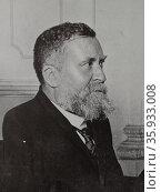 Jean Jaures. Редакционное фото, агентство World History Archive / Фотобанк Лори