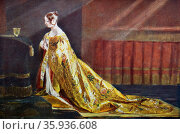 Queen Victoria in her Coronation Robes. Редакционное фото, агентство World History Archive / Фотобанк Лори
