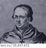 Portrait of Pope Clement II. Редакционное фото, агентство World History Archive / Фотобанк Лори