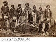 Mir Mahmud Khan II and his Retinue. Редакционное фото, агентство World History Archive / Фотобанк Лори