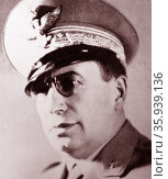 Mario Roatta (1887 – 1968) Italian general. Редакционное фото, агентство World History Archive / Фотобанк Лори