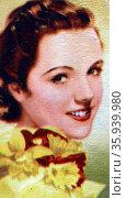 Jane Wyatt (1910 – 2006) American actress. Редакционное фото, агентство World History Archive / Фотобанк Лори