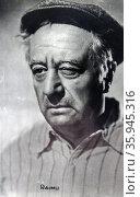 Raimu, French actor. Редакционное фото, агентство World History Archive / Фотобанк Лори