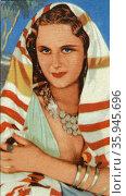 Tamara Desni, an German-born British actress. Редакционное фото, агентство World History Archive / Фотобанк Лори