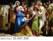 Painting titled 'The Coversion of Mary Magadalene' by Paolo Veronese (2013 год). Редакционное фото, агентство World History Archive / Фотобанк Лори