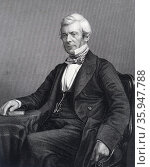 William Chambers of Glenormiston or William Chambers (1800 – 1883). Scottish publisher and politician (2016 год). Редакционное фото, агентство World History Archive / Фотобанк Лори