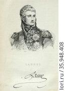 Jean Lannes, Due de Montebello (1769-1809); French soldier; one of Napoleon's commanders (2016 год). Редакционное фото, агентство World History Archive / Фотобанк Лори