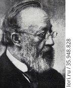 Photographic portrait of Gottfried Keller (2013 год). Редакционное фото, агентство World History Archive / Фотобанк Лори