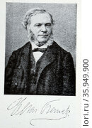 Portrait of César Franck. Редакционное фото, агентство World History Archive / Фотобанк Лори