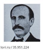 Portrait of José María Ventura Casas. Редакционное фото, агентство World History Archive / Фотобанк Лори
