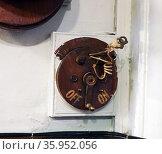 19th Century light switch. Редакционное фото, агентство World History Archive / Фотобанк Лори