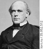 Portrait of Salmon P. Chase. Редакционное фото, агентство World History Archive / Фотобанк Лори