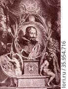 Portrait of Gaspar de Guzmán, Count-Duke of Olivares. Редакционное фото, агентство World History Archive / Фотобанк Лори