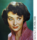 Photograph of Virginia Leith. Редакционное фото, агентство World History Archive / Фотобанк Лори