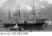 Portrait of the cruiser 'Pampero' (2016 год). Редакционное фото, агентство World History Archive / Фотобанк Лори