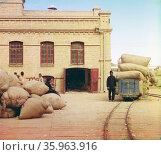 Moscow, la Chapelle d'Yversky. Редакционное фото, агентство World History Archive / Фотобанк Лори