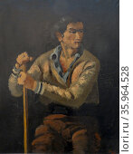 Le Gitan (the Gypsy) 1926, By Andre Derain (1880 – 1954) Редакционное фото, агентство World History Archive / Фотобанк Лори