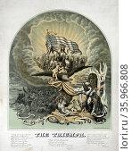 American Civil War allegory: Triumph by Morris Traubel, Редакционное фото, агентство World History Archive / Фотобанк Лори