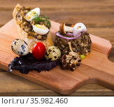 Shiitake Mushroom Pate. Стоковое фото, фотограф Яков Филимонов / Фотобанк Лори