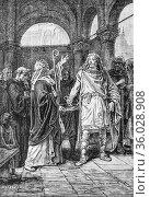 The eulogies of saint martin, the illustrated universe 1882, publisher... (2009 год). Редакционное фото, фотограф Louis Bertrand / age Fotostock / Фотобанк Лори