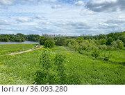 """Парк """"Коломенское"""", вид на Москву-реку. Стоковое фото, фотограф Мария Кылосова / Фотобанк Лори"""