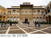 The Royal Alcazars of Seville (2019 год). Редакционное фото, фотограф Юлия Белоусова / Фотобанк Лори