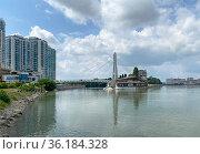 Мост Поцелуев, Краснодар. Редакционное фото, фотограф Мария Кылосова / Фотобанк Лори
