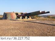Armored battery 30, Soviet military unit. Стоковое фото, фотограф EugeneSergeev / Фотобанк Лори