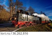 Die Mecklenburgische Bäderbahn. Стоковое фото, фотограф Zoonar.com/Karl Heinz Spremberg / age Fotostock / Фотобанк Лори
