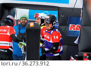 NOERL Martinbeim FIS Weltcup Snowboard SBX Feldberg - Samstag. Стоковое фото, фотограф Zoonar.com/Joachim Hahne / age Fotostock / Фотобанк Лори