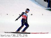 Tim Fuchs (SC Degenfeld) bei der Quali Vierschanzentournee Oberstdorf... Стоковое фото, фотограф Zoonar.com/Joachim Hahne / age Fotostock / Фотобанк Лори