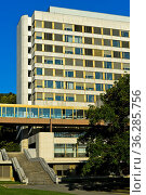Sitz der UN Welthandels- und Entwicklungskonferenz, UNCTAD, E Building... Стоковое фото, фотограф Zoonar.com/GFC Collection / age Fotostock / Фотобанк Лори
