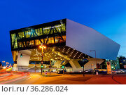 Stuttgart, Deutschland - 25. Oktober 2017: Porsche Museum in Stuttgart... Стоковое фото, фотограф Zoonar.com/Markus Mainka / age Fotostock / Фотобанк Лори