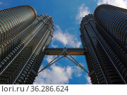 KUALA LUMPUR, MALAYSIA - JANUARY 31, 2016: Cloudscape view of the... Стоковое фото, фотограф Zoonar.com/Kokhanchikov / easy Fotostock / Фотобанк Лори