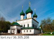 Fyodorovskaya Church is a russian orthodox church built in Yaroslavl... Стоковое фото, фотограф Zoonar.com/Yuri Dmitrienko / easy Fotostock / Фотобанк Лори