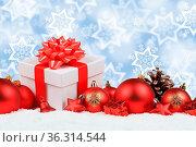 Weihnachten Geschenke Weihnachtsgeschenke Dekoration Hintergrund Sterne... Стоковое фото, фотограф Zoonar.com/Markus Mainka / easy Fotostock / Фотобанк Лори