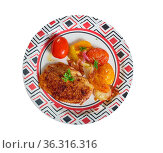 Kotlet z Kurczaka - Polish chicken breast chops. Стоковое фото, фотограф Zoonar.com/MYCHKO / easy Fotostock / Фотобанк Лори