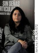 Astrid Rondero, Fernanda Valadez and Mercedes Hernandez attend Press... Редакционное фото, фотограф Eyepix / WENN / age Fotostock / Фотобанк Лори