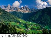 Val di Fassa, Dolomites, Trentino Alto Adige, Italy. Стоковое фото, фотограф David Noton / Nature Picture Library / Фотобанк Лори