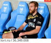 Nico Hammann vom 1.FC Magdeburg DFB 3. Liga Saison 2016/17 nach dem... Стоковое фото, фотограф Zoonar.com/Axel Kammerer / age Fotostock / Фотобанк Лори