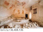 Sagarejo Municipality, Kakheti Region, Georgia. Ancient Surviving... Стоковое фото, фотограф Ryhor Bruyeu / easy Fotostock / Фотобанк Лори
