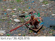 DHAKA CITY, BANGLADESH - AUGUST 21: A elderly from Sadar Ghat village... Редакционное фото, фотограф Eyepix / WENN / age Fotostock / Фотобанк Лори