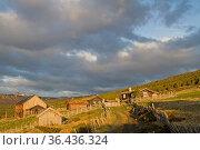 Impressionen von der 110 km langen Straße Sognefjellsveien, welche... Стоковое фото, фотограф Zoonar.com/Eder Christa / easy Fotostock / Фотобанк Лори