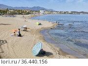 La Cala de Mijas, Costa del Sol, Malaga Province, Andalusia, southern... Стоковое фото, фотограф Ken Welsh / age Fotostock / Фотобанк Лори